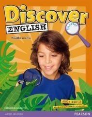 Pearson Central Europe Discover English Starter Podręcznik wieloletni + CD - Boyle Judy