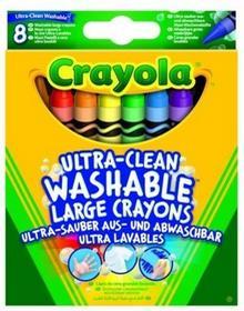 Crayola Duże zmywalne kredki 8 sztuk 52-3282