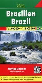 Freytag&berndt Brazylia Mapa 1:2 000 000 - Freytag & Berndt