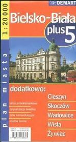Demart Bielsko-Biała - plan miasta (skala 1:20 000) - Praca zbiorowa