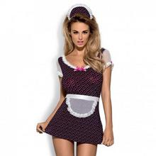 Obsessive Kostium pokojówki - Sugarella Costume L/XL