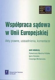 Współpraca sądowa w Unii Europejskiej - SCHOLAR