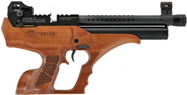 Hatsan Arms Company Pistolet wiatrówka PCP SemiAutoAction (SORTIE-W) T012749