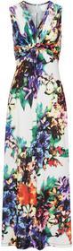 Bonprix Sukienka letnia biały w kwiaty