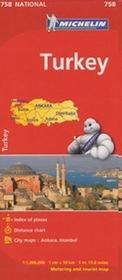 Turcja Mapa w skali 1:1 000 000 Michelin Helion