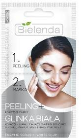 Bielenda Professional Formula Maseczka 2-fazowa Peeling enzymatyczny + Glinka biała 2x5g