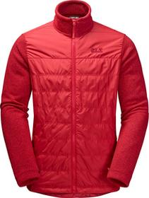 Jack Wolfskin Kurtka CARIBOU CROSSING ALTIS MEN ruby red