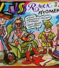 Prószyński Tytus, Romek i A'Tomek. W Bitwie Warszawskiej 1920 roku z wyobraźni Papcia Chmiela narysowani - Henryk Jerzy Chmielewski