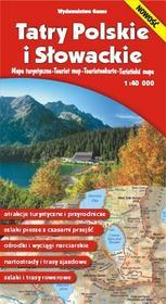 Mapa Tatry Polskie i Słowackie - Opracowanie zbiorowe