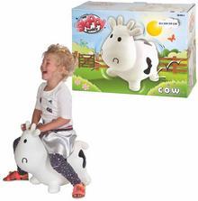 Van der Meulen My Skippy Buddy Zwierzątko do skakania Cow, biały, KH1-23