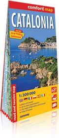 ExpressMap praca zbiorowa Comfort! map Katalonia (Catalonia) 1:300000. Laminowana mapa samochodowo-turystyczna
