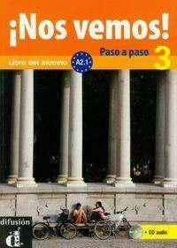 Difusion Nos vemos! 3 Paso a paso z płytą CD - Lloret Ivorra Eva Maria, ROSA RIBAS, Wiener Bibiana