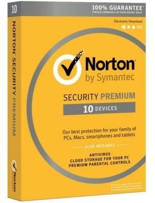 Symantec Norton Security 3.0 Premium PL (10 stan. / 1 rok)