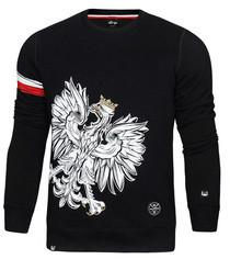 20d0d191a158 -27% SURGE POLONIA POLSKA Bluza patriotyczna Orzeł Sport Opaska czarna  (B.SUR.301)
