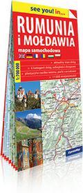 ExpressMap praca zbiorowa see you! in Rumunia i Mołdawia. Papierowa mapa samochodowa 1:700 000