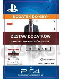 Hitman Zestaw Dodatków zawiera 5 nowych celów podróży PS4 wersja cyfrowa