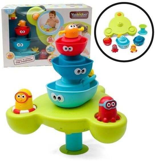 Yookidoo zabawka do kąpieli Fontanna z łódeczkami