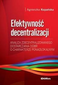 Efektywność decentralizacji - dostępny od ręki, wysyłka od 2,99