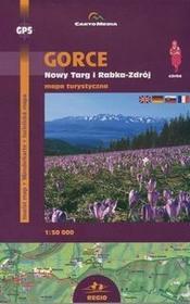 Cartomedia  Gorce Nowy Targ i Rabka-Zdrój Mapa turystyczna