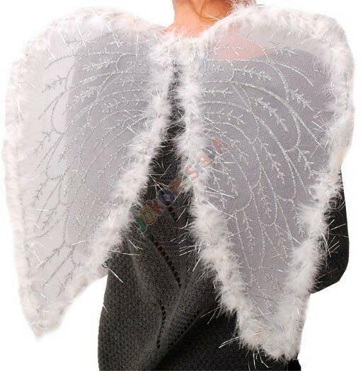 Skrzydła Anioła strój na jasełka kolędę 0068