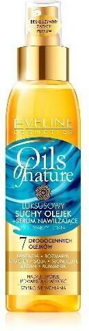 Eveline Oils of Nature Olejek suchy-Serum nawilżające do twarzy i ciała 125ml