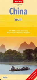 Nelles Chiny Południowe mapa  1:1 750 000 Nelles