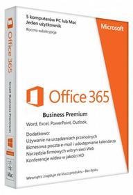 Microsoft Office 365 Business Premium 5PC - najnowsza wersja 2016