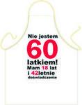 Fartuszek Urodzinowy 60 dla niego Fur60