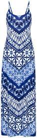 Bonprix Sukienka niebiesko-kolorowy