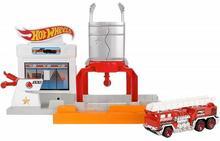 Mattel Hot Wheels Rozkładane zestawy Pożar na stacji 227083