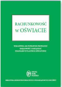 WIEDZA I PRAKTYKA Rachunkowość w oświacie - Anna Zienkiewicz