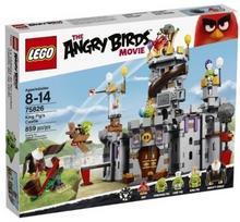 LEGO Angry Birds Zamek króla świnek 75826