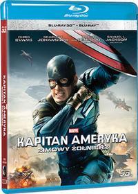 Kapitan Ameryka Zimowy żołnierz 3D 2Blu-ray)