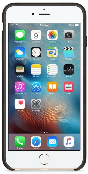 APPLE APPLE Etui APPLE Skórzane do Apple iPhone 6S Plus Czarny