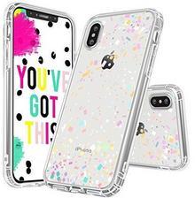 MOSNOVO Marble Case for iPhone X, Confetti MI8LKT193