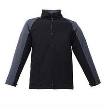 Regatta Uproar kurtka męska typu softshell kurtka polarowa, wiatroszczelna - 3xl czarny/szary B079TPZG72
