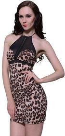 vidaXL vidaXL Seksowna bielizna damska ze wzrorem leoparda - jeden rozmiar