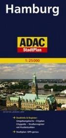 ADAC Hamburg mapa 1:25 000 ADAC