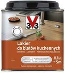 V33 Lakier do blat?w kuchennych satyna 0 5 l