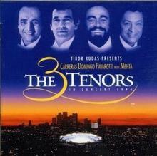 Jose Carreras; Luciano Pavarotti; Placido Domingo In concert 1994