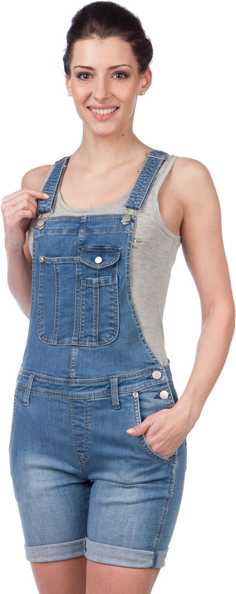 Pepe Jeans kombinezon damski Jessica M niebieski