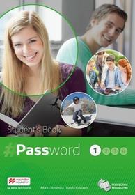 Macmillan Język angielski Password 1 LO podręcznik / CYKL WIELOLETNI  - Edwards Lynda, Marta Rosińska