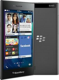 BlackBerry STR1001Shadow Grey smartfona Leap (13cm (5cali), 16GB LTE) Czarny