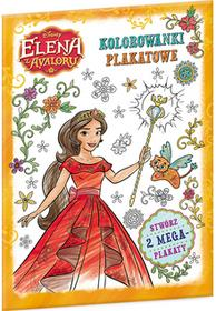 Ameet Elena z Avaloru. Kolorowanki Plakatowe praca zbiorowa