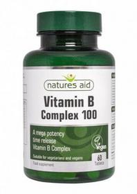 Natures NaturesAid Witaminy B Complex 100 przedlużone działanie 60tb Aid