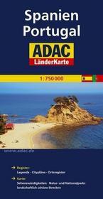 ADAC Hiszpania Portugalia mapa 1:750 000 ADAC