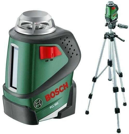 Bosch Laser krzyżowy Pll 360 set