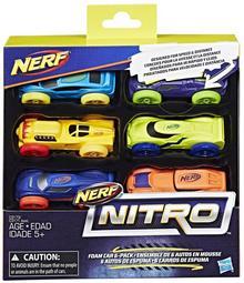 Hasbro Nerf Nitro 6-pak samochodów Ner Nitro C1373