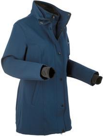 Bonprix Krótka kurtka softshell 2 w 1 ciemnoniebieski