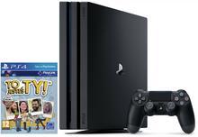 Sony PlayStation 4 Pro 1TB Czarny + To Jesteś Ty + Uncharted 4 Kres Złodzieja